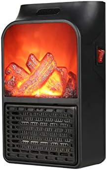 立っている電気暖炉炎効果卓上ポータブルヒーター人間化温度の調節家庭用暖房