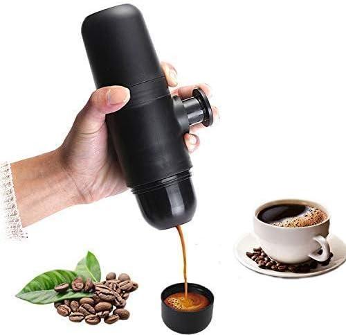 Máquina de café, portátil manual de la cápsula de la máquina de ...