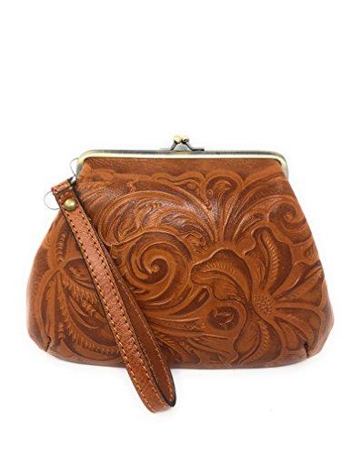 Italian Leather Tooled...