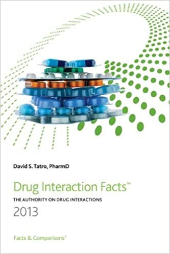 drug interaction facts david s tatro