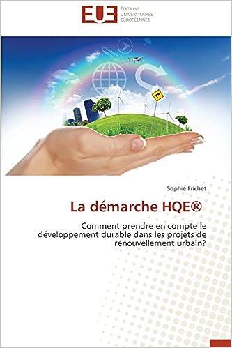 Livres gratuits en ligne La Demarche Hqe(r) epub pdf