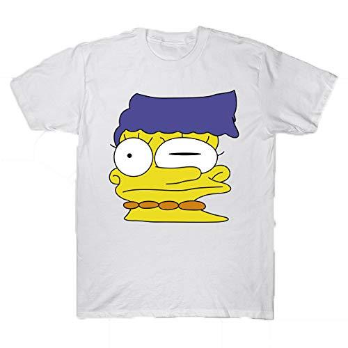 Simpson Foreverdai Camiseta Marge Deforme