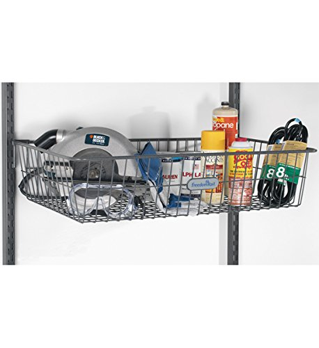 Organized Living freedomRail Big Work Basket - Granite