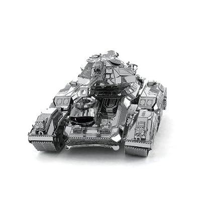 Metal Earth 5061297 - Maquette 3D - Halo - Unsc Scorpion - 1 pièce