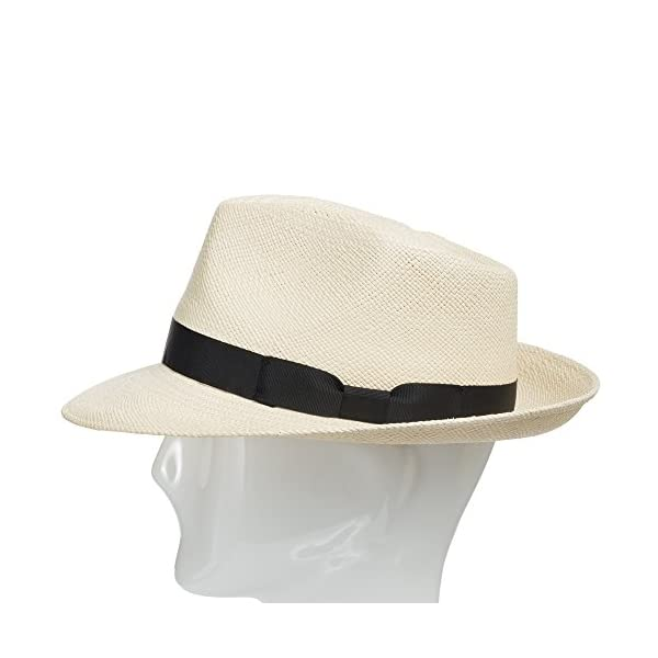 ULTRAFINO-Genuine-HAVANA-Retro-Panama-Straw-Hat-Classic-Lightweight-ALL-SIZES