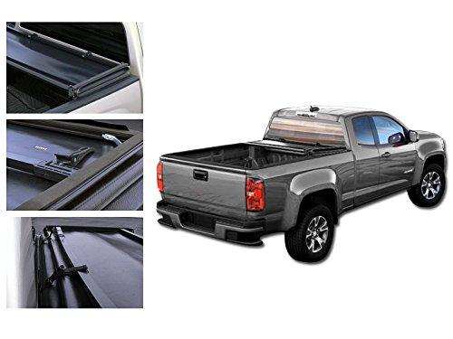 09-13 DODGE RAM 1500/10-13 2500/3500 (STD/EXT/QUAD CAB EXCEPT 09 HD), 6.5' BED VINYL TONNEAU COVER (TRI-FOLD) (Quad Std Ext)