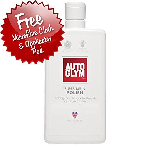 Autoglym –  Eliminador de resina de New Super polaco 325 ml * * Plus Aplicació n gratuita Pad & Pañ o De Pulido * *