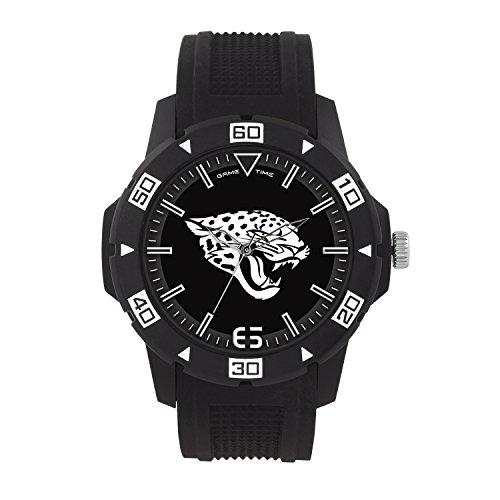NFL Jacksonville Jaguars Mens Automatic Series Wrist Watch, Black, One Size ()