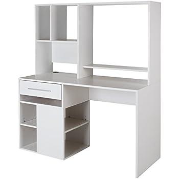 Amazon Com Tvilum 8012549 Whitman Desk White Kitchen
