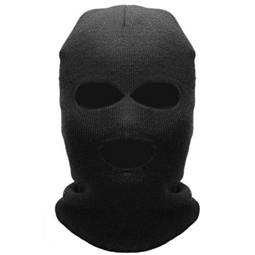 Yoliki Unisex warm Ski-Mask Halsschutz Hut CS benutze Mütze Sturmhaube Winter Hut