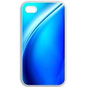 For Apple Iphone 5C Case Cover Customized Gifts Fors 3D Graphics Blue Wave 3d Abstract Black