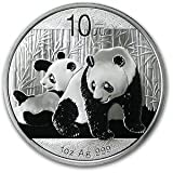 2010 China Panda Series - 1 Ounce Silver Coin by China Mint