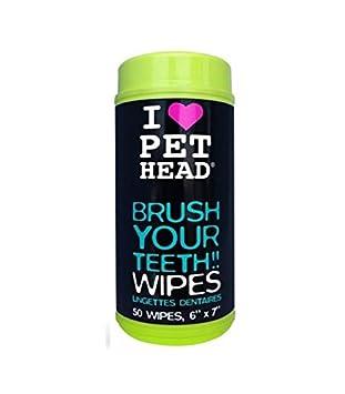 Toallitas húmedas para limpieza de los dientes del perro: Amazon.es: Deportes y aire libre
