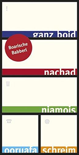 Boarische Babberl