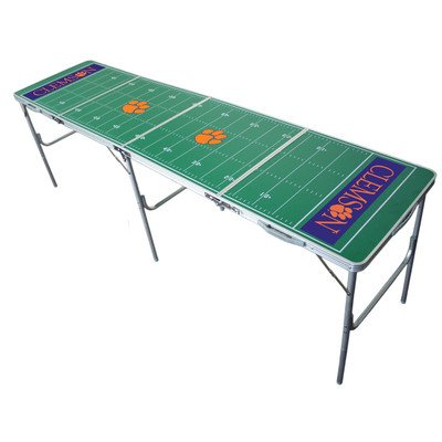 (Clemson Tigers 2x8 Tailgate Table by Wild Sports)