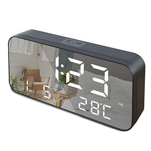 GLOUE LED Digital Alarm Clock