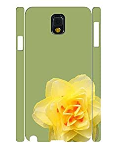 Stylish Collection Mobile Phone Case With Yellow Flower Pattern Tough Case Cover for Samsung Galaxy Note 3 N9005