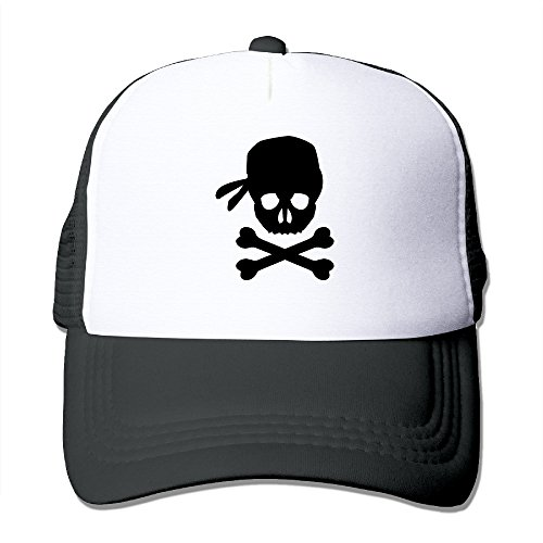 Pirate Children Custom Baseball Cap One Size Fits Most Dancing Mesh Cap Adjustable (Custom Pirate Hat)