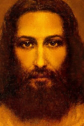Jesus Face Image from Shroud of Turin Catholic Print (16x20) by Hispanic World