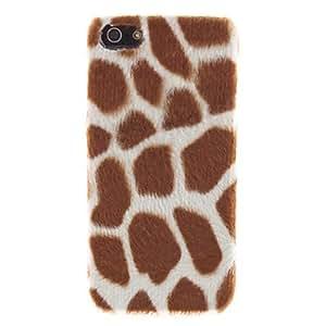 Mini - Leopard Design Hard Case for iPhone 5/5S Color: Black