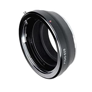 Fotodiox Pro Lens Mount Adapter - Pentax 645 (P645) Mount SLR Lens to Canon EOS (EF, EF-S) Mount SLR Camera Body, with Focus Confirmation Chip