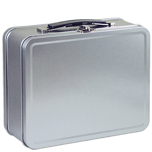 Custom Metal Lunch Boxes - Plain Metal Snack Box