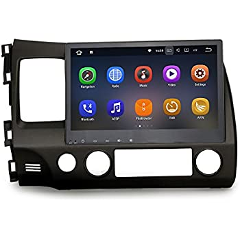 Amazon hizpo android 71 car radio for honda crv cr v 2007 2008 sygav android 711 nougat car stereo 2g ram for 2006 2011 honda civic radio 102 inch touch screen gps sat navigation audio fm am lcd monitor head unit asfbconference2016 Gallery
