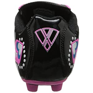 Vizari Retro Hearts FG Soccer Shoe (Toddler/Little Kid),Black/Pink/Blue,10 M US Toddler
