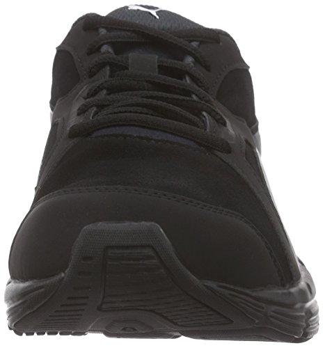 Puma Unisex-Erwachsene Axis V4 SD Low-Top, 44.5 EU Schwarz (black-dark shadow 01)