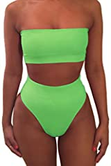 "Removable strap and removable soft support on the bust area You could wearing is as strap or strappless Material:88% polyamide + 12% spandex High quality get such function swimsuit,don't miss it S/M/L/XL: S:Upper bust:28.0"",Underbust:25.0"",Wa..."