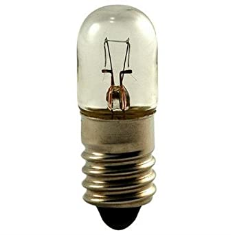 Eiko 1821-10 1821 28V .17A T3-1//4 Miniature Screw Base Light Bulb Pack of 10
