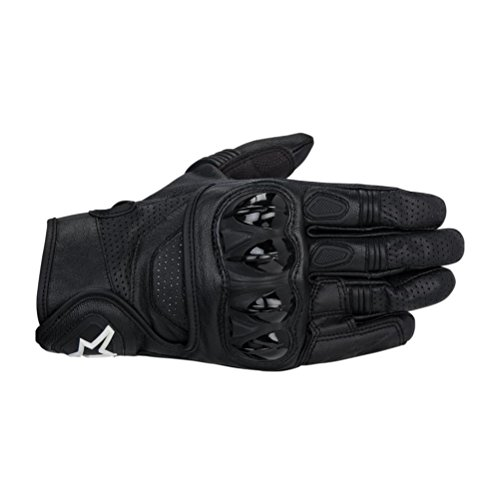 - Alpinestars Celer Men's Leather Street Racing Motorcycle Gloves - Black/Large