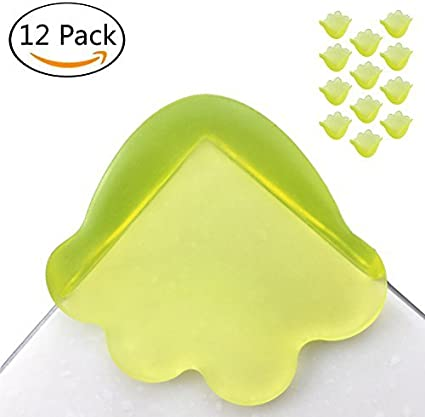 Safety Edge Corner Guards Baby Proofing Corners with Strong Adhesive Keep Safety for Furniture Against Sharp Corners 12Pcs Soft Corner Protectors for Kid