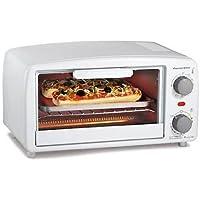 Proctor Silex 4 slice Toaster Oven, White New