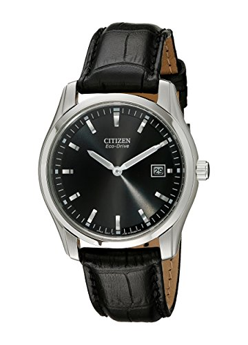 Citizen Men's Eco-Drive Stainless Steel Watch, AU1040-08E ()