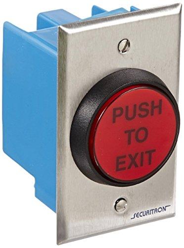 Securitron Push Button (Securitron Momentary 2