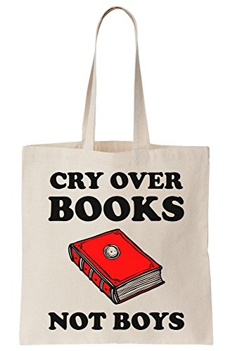 Boys Books Tote Not Canvas Bag Cry Over xZ5OqwSxt