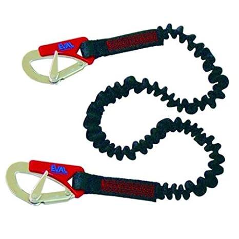 Soga elástica con cuerda y{2} gancho de acero inoxidable: Amazon ...