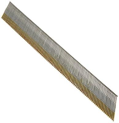 """Hitachi 14313 1-1/2"""" x 15 Gauge Electro Galvanized Angled Finish Nails 4000 count by Hitachi Koki USA"""