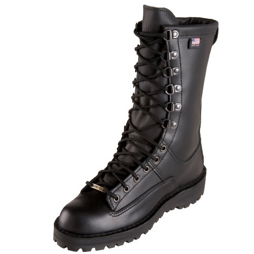 Danner Women's Fort Lewis 10'' W Uniform Boot,Black,7 M US by Danner