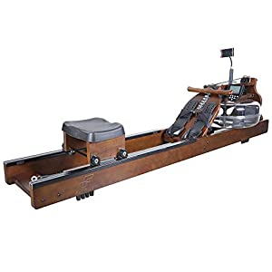 Well-Being-Matters 41L51iFEFDL._SS300_ FITPHER Water Resistance Rowing Machine, Indoor Dual-Track Fitness Rowers Equipment for Healthy (Woody)