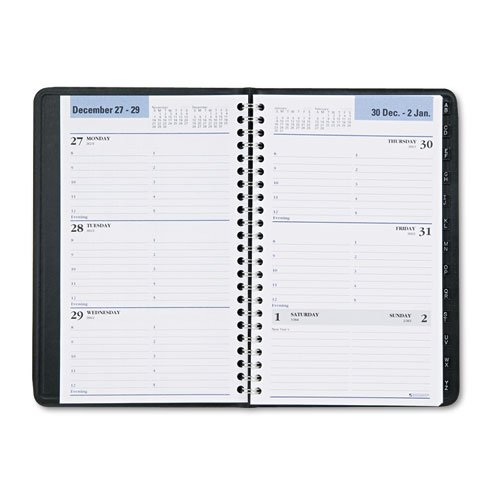 At-A-Glance,Appointment Books,Dated Goods,Weekly,DayMinder,Appointment,Tabbed Telephone Address,Planners. two Page Per Week, 2PPW, Wirebound