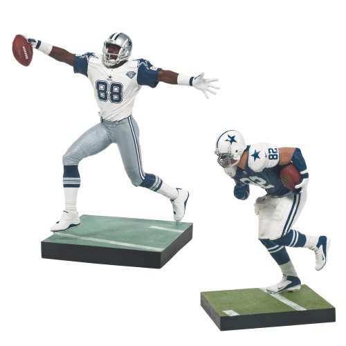 McFarlane Toys Dallas Cowboys NFL Jason Witten and Michael Irvin Figure, 2-Pack by McFarlane