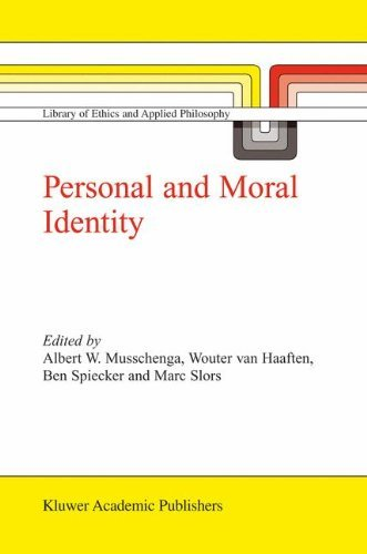 Personal and Moral Identity (Library of Ethics and Applied Philosophy) Pdf
