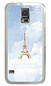 Eiffel Dreams Clear Hard Case Cover Skin For Samsung Galaxy S5 I9600 by icecream design