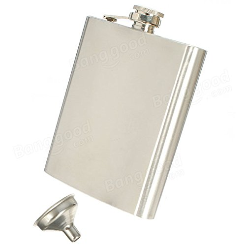 Bazaar-Hip-Liquor-Alcohol-Flask-18-oz-With-Stainless-Steel-Screw-Cap-Portable-Bar-Tools