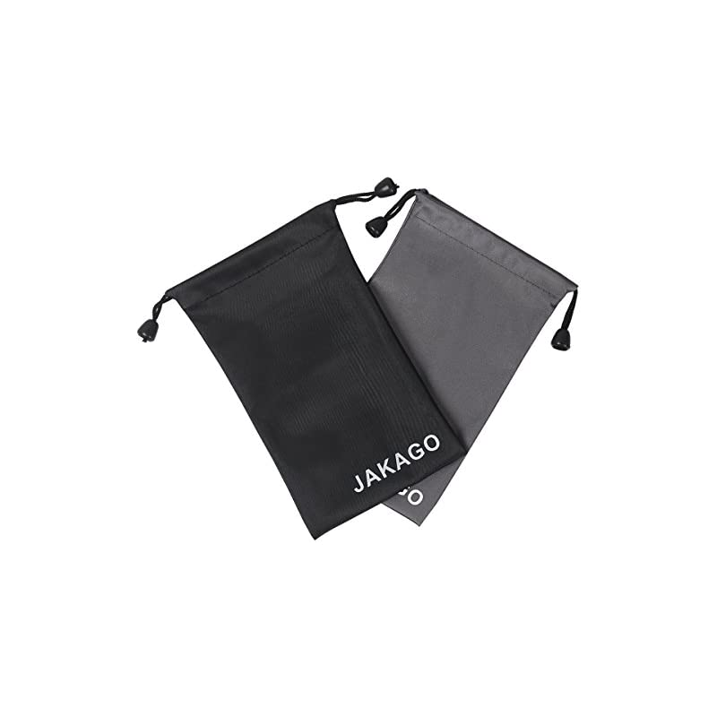 JAKAGO Universal Fabric Pouch Bag Portab