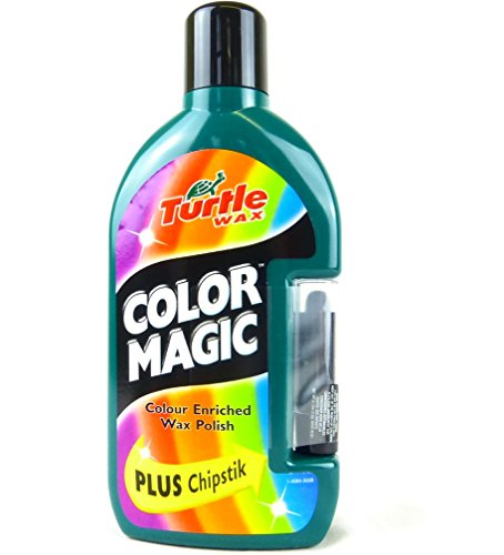 Turtle Wax FG6903 Dark Green Color Magic Plus Colored Car Polish Cleans Shines Restores Scratches Includes Chipstick 500 Milliliter Discontinued by Manufacturer