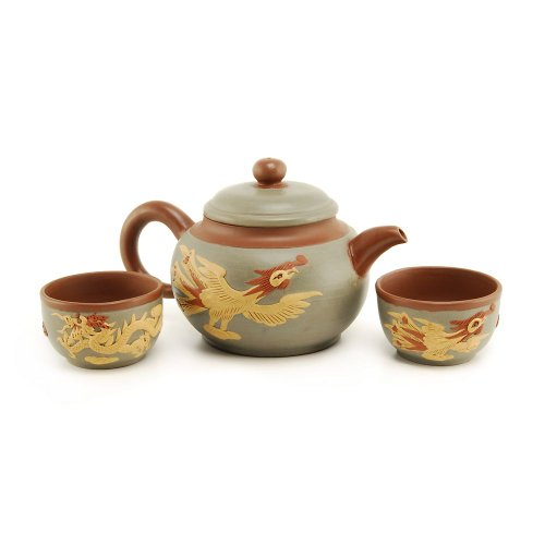 Teavana Phoenix and Dragon Yixing Teapot