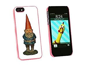 Graphics and More Garden Gnome Snap-On Hard Protective For Iphone 5C Phone Case Cover - Non-Retail Packaging - Pink